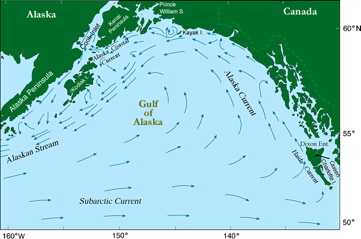 Gulf of alaska ecofoci ecosystems fisheries oceanography gulf of alaska map gumiabroncs Image collections